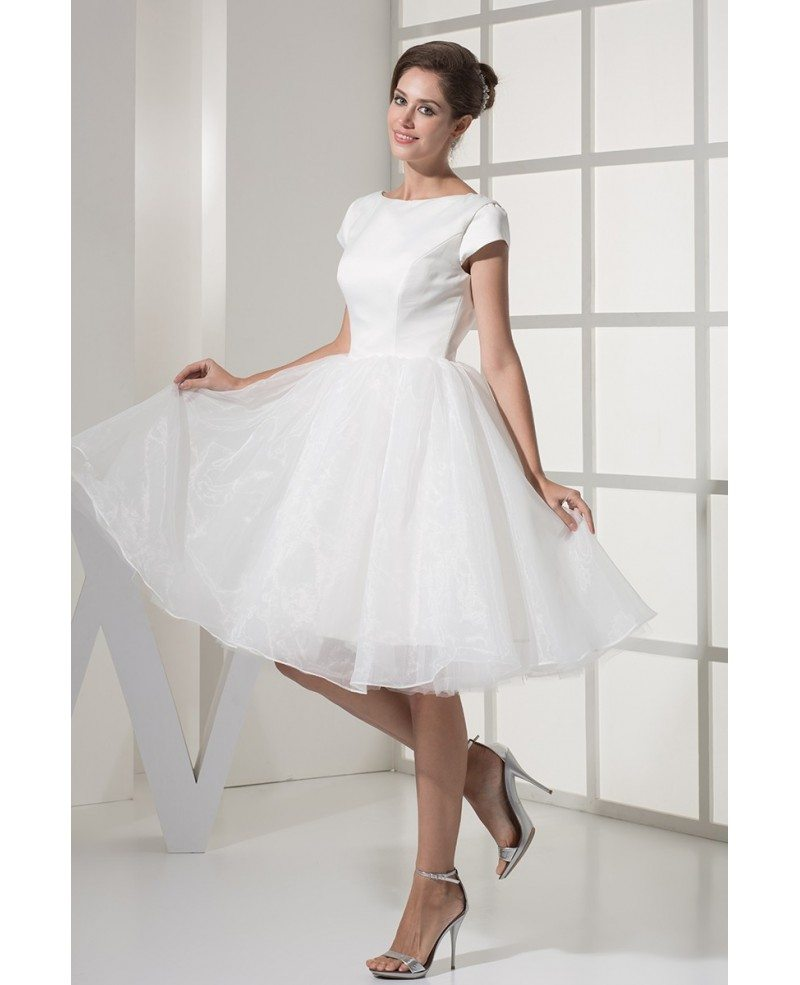 Fun Short Wedding Dresses Tulle With