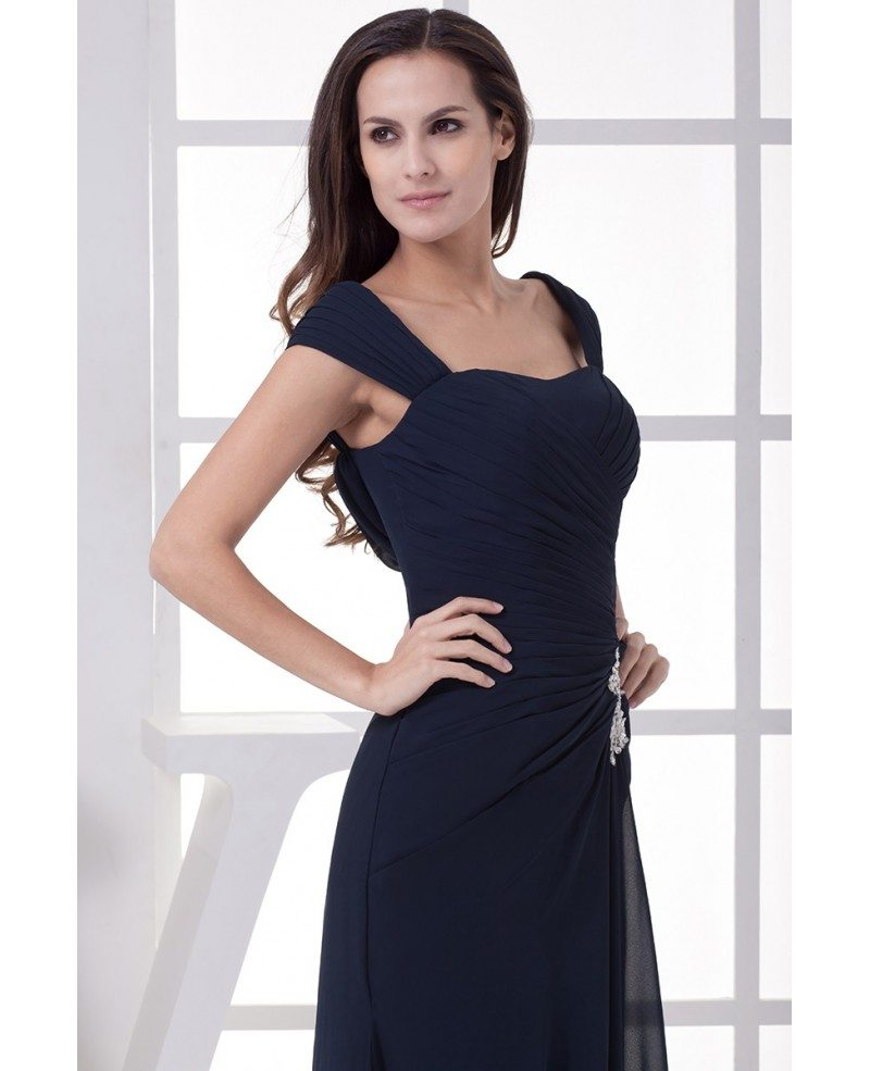 Summer Navy Blue Mother Of The Bride Dresses A Line