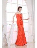 Mermaid Sweetheart Floor-length Satin Evening Dress