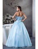 Ball-gown Sweetheart Floor-length Tulle Satin Wedding Dress With Beading