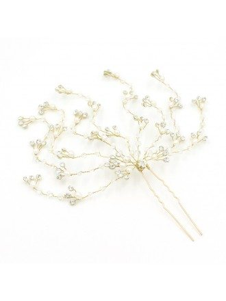 Romantic Tree Branch Wedding Hair Jewelry
