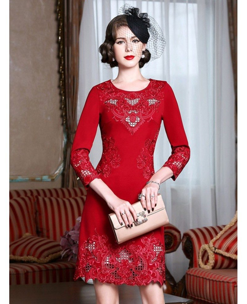 Bodycon wedding guest dress woman over 50