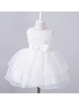 Super Cute Lace Princess Flower Girl Dress for Toddlers