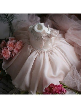 Dreamy Princess Ballgown Girls Pageant Gown Flower Girl Dress For Weddings