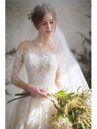 Best Boho Beach Wedding Dress with Sleeves For Destination Weddings
