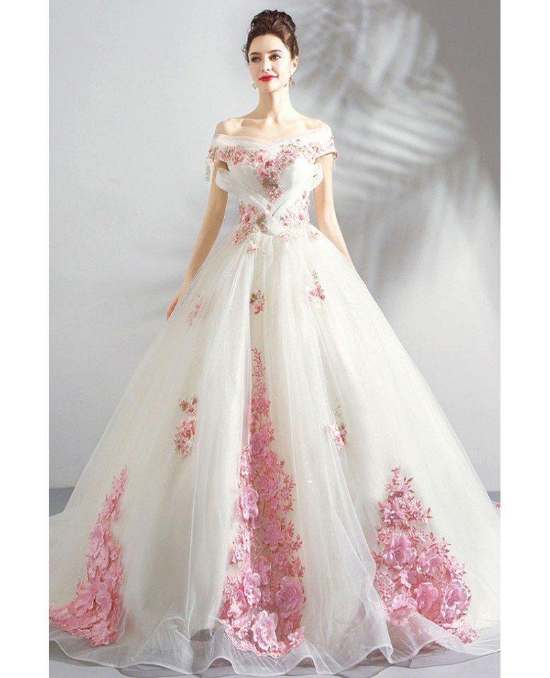 Marina Maitland Wedding Dress Wedding Dress With Flowers