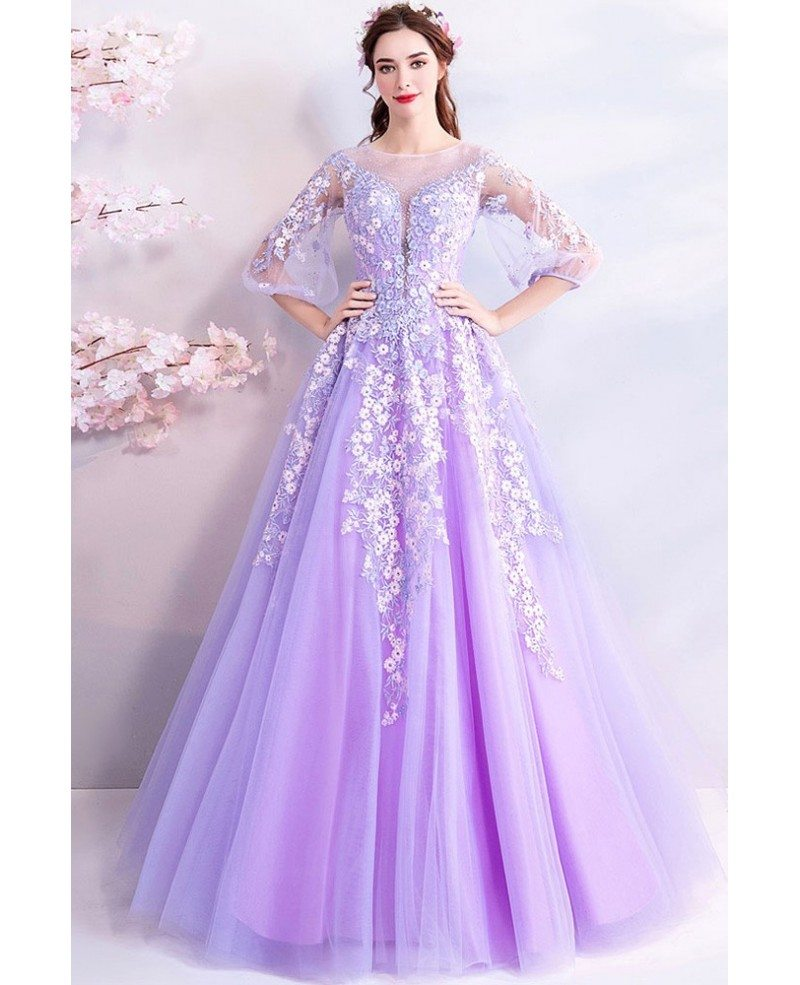 Prom Dress Purple