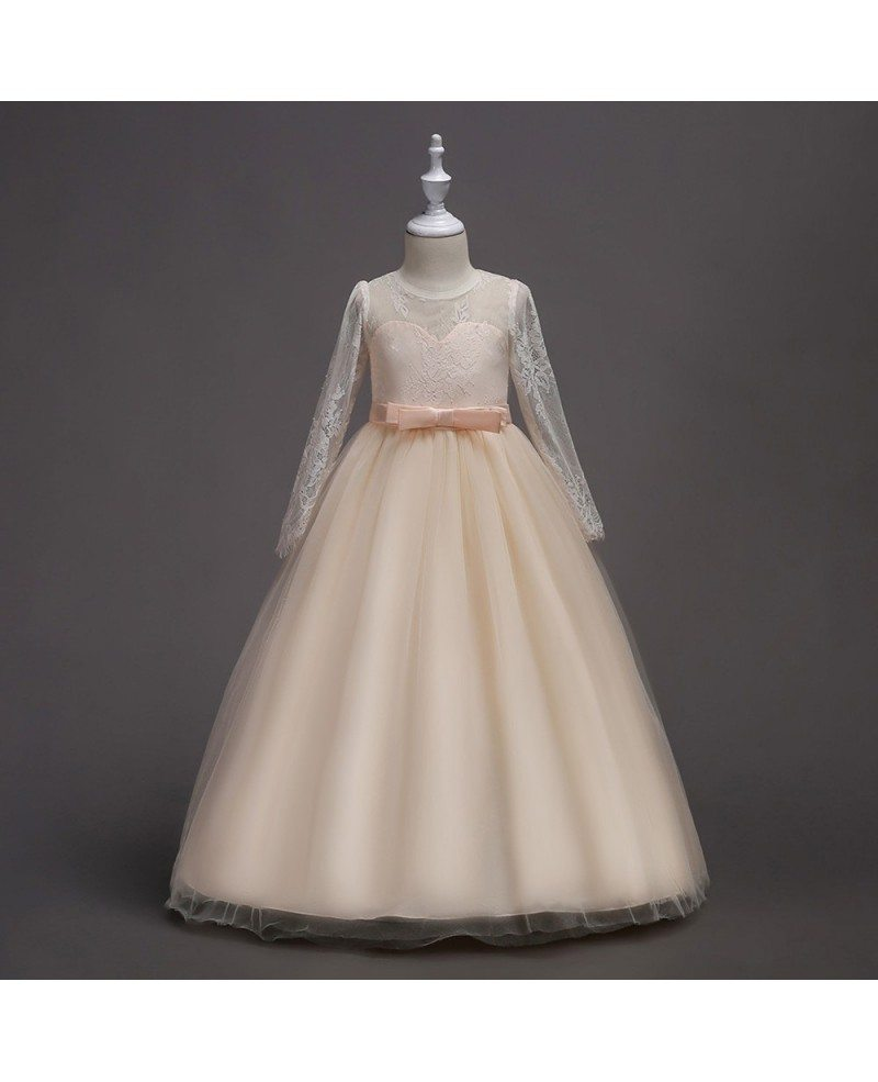 champagne flower girl dress,vintage flower girl dress,flower girl,tulle flower girl dress,ivory flower girl dress,rustic flower girl dress