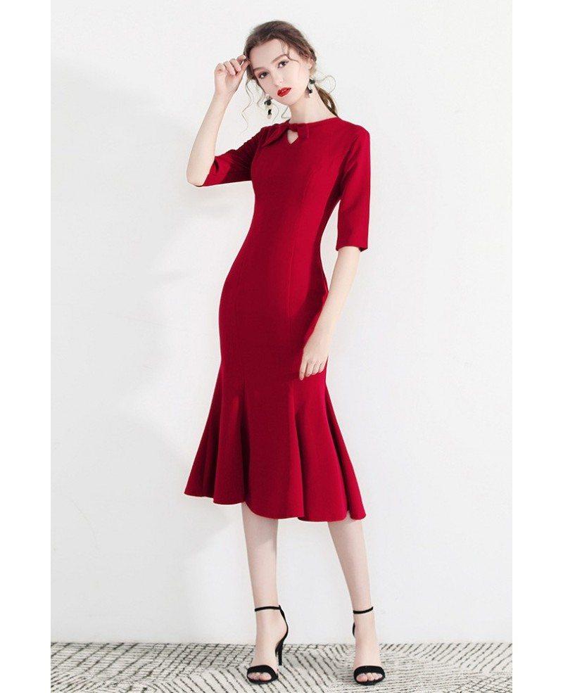 Bodycon ruched mini dress
