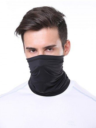 Washable Face Covering Mask For Running Neck Gaiter For Sports