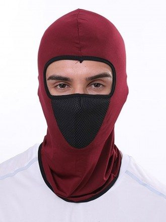 Washable Face Covering Mask Breathable Full Face Hat Multifunctional