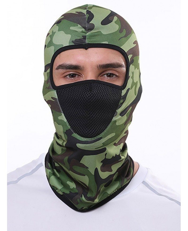 Washable Face Covering Mask Breathable Full Face Hat
