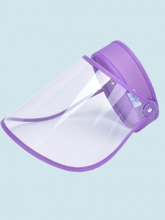 Protective HD Plastic Transparent Adjustable Detachable Safety Face Shield