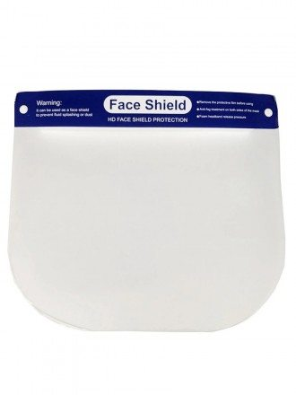 Wrap-around Hd Plastic Face Shield For Hard Hat For Sale