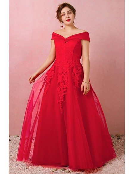 Custom Off Shoulder Laceup Wedding Party Dress with Lace Plus Size High Quality
