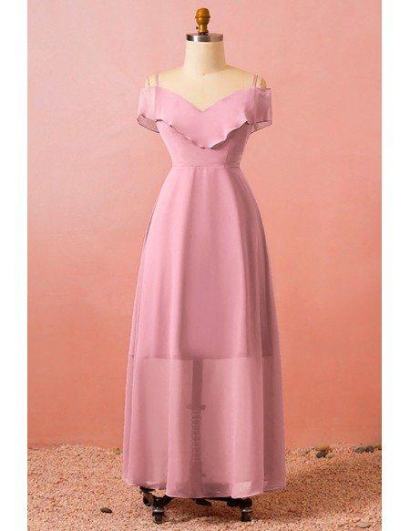 Custom Elegant Ruffle Maxi Party Dress Aline High Quality