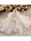 Elegant Lace Tulle Ballgown Girls Party Dress For Formal