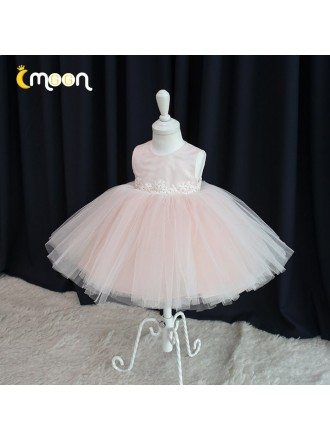 Lovely Pink Tulle Tutus Birthday Party Dress For Little Girls