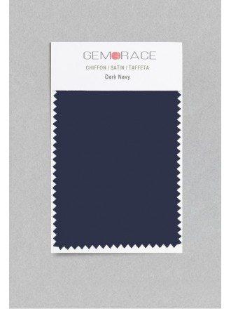 Dark Navy Color in Satin Fabric