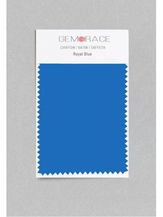 Royal Blue Color in Satin Fabric