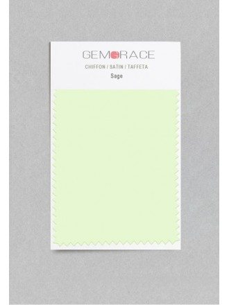Sage Color in Satin Fabric