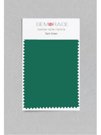 Dark Green Color in Satin Fabric