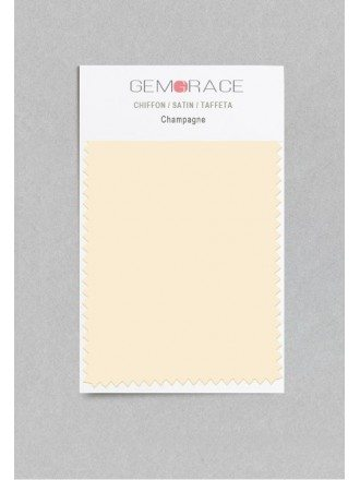 Champagne Color in Satin Fabric