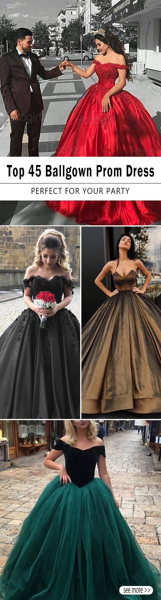 45 Ballgown Prom Dresses
