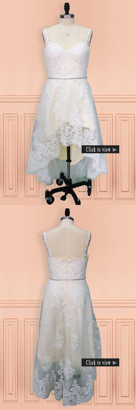 high low wedding dress