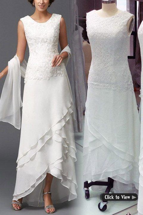 high waist wedding dress