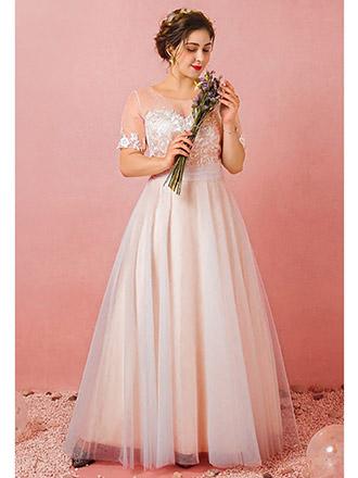 plus older bride wedding dress