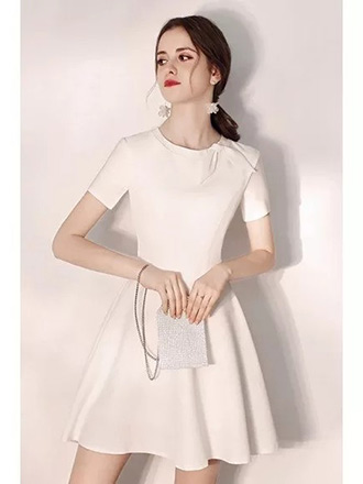little white party dress